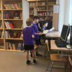 """Pamatskolas """"Rīdze"""" bibliotēka"""